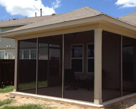 porch enclosures austin texas